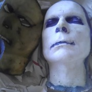 Face Casting & Character Mask by Tara DiPetrillo